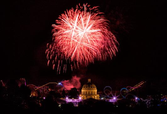 Heidepark Soltau: 12 Feuerwerke zur Halloween Saison